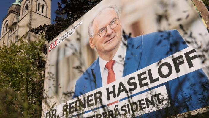 Political Parties Campaign In Saxony-Anhalt