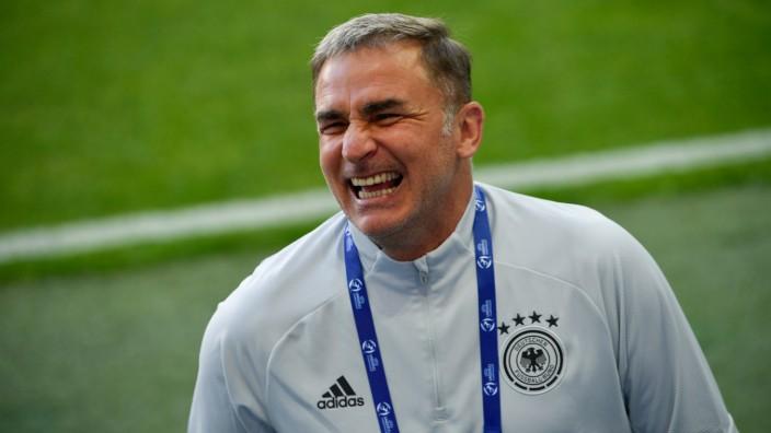 Fußball EM U21 - Training Deutschland