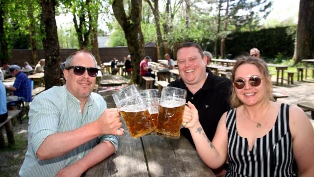 Biergärten dürfen wieder öffnen