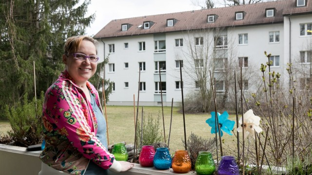 Sandra Zumpfe hatte eine Organtransplantation, Minnewitstraße 9