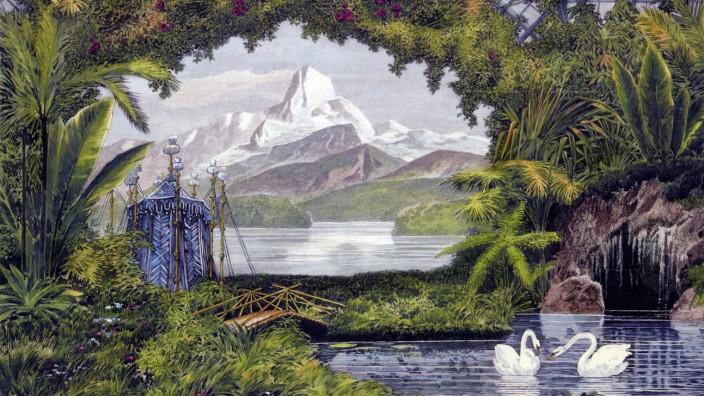 Ausgezeichnetes Buch: Exotik in Bayern: der Wintergarten Ludwigs II. mit Himalaya-Motiv.
