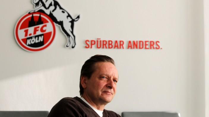Interview mit Horst Heldt 1. Fussball Bundesliga Saison 2020 2021 Geißbockheim Köln Deutschland 11.02.2021 Horst Heldt (