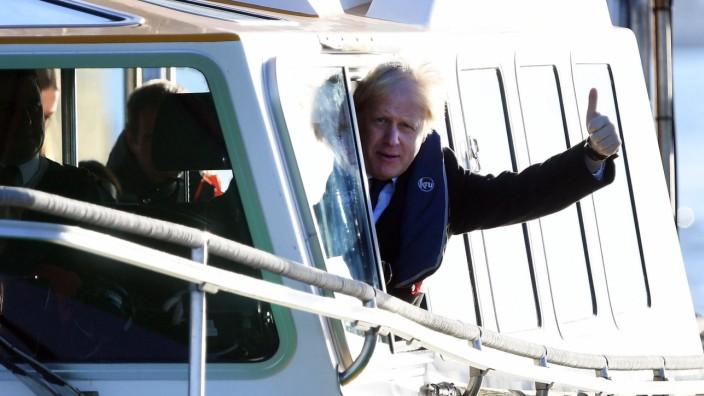 . 02/12/2019. Southampton, United Kingdom. Boris Johnson General Election Campaign Day 23. Britain s Prime Minister Bori