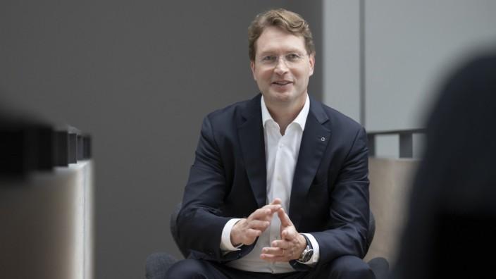MoIV Ola Källenius, Daimler
