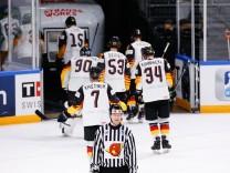 Eishockey-WM 2021: Deutsche Eishockey-Nationalmannschaft gegen die USA