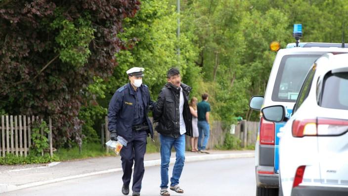 """Gewalttat in Penzberg â€"""" Täter von Polizei gefasst"""