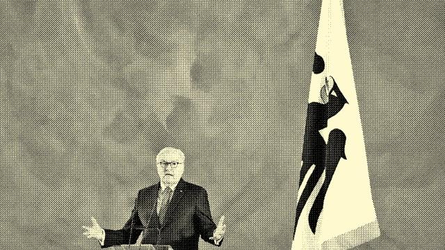 Bundespräsident Steinmeier: Will noch mal gewählt werden: Bundespräsident Frank-Walter Steinmeier kündigte seine Kandidatur für eine zweite Amtszeit an.