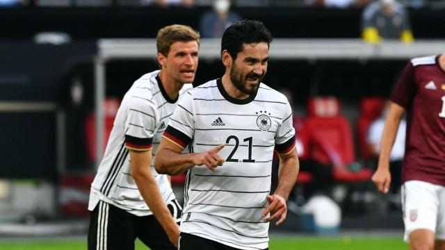 Fussball, Herren, Deutschland, Nationalmannschaft; Testspiel zur Euro 2021, Merkur-Spiel-Arena Düsseldorf: Deutschland (