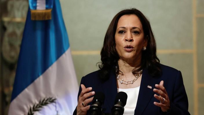 U.S. Vice President Harris visits Guatemala