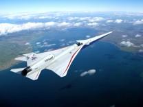 Überschallflugzeug X-59: Mit zweifacher Schallgeschwindigkeit um die Welt