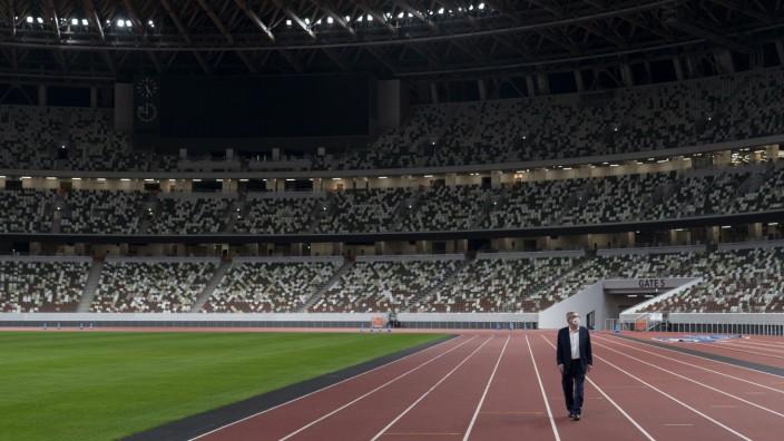 Vor den Olympische Spiele in Tokio