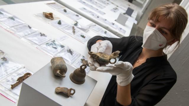 Römische Funde in Augsburg