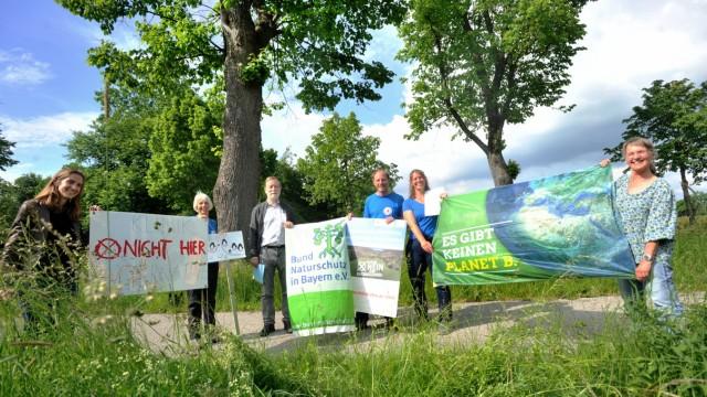 Hechendorf: Bund Naturschutz: Anti Klinikbau