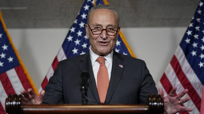 USA: Chuck Schumer, demokratischer Mehrheitsführer im US-Senat