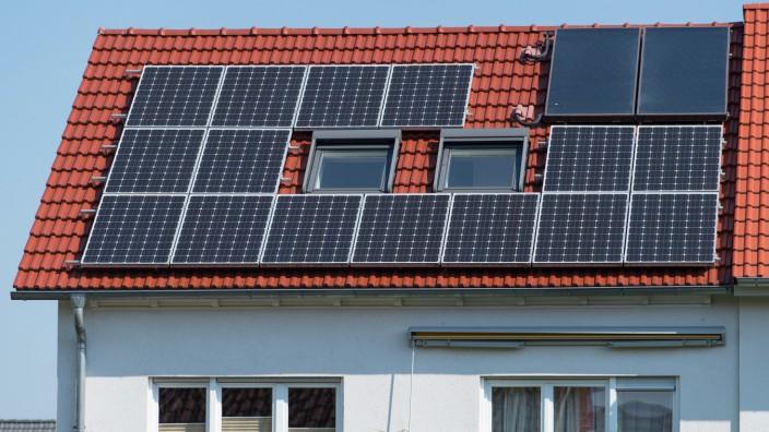 Solaranlagen können oft nicht das ganze Dach belegen