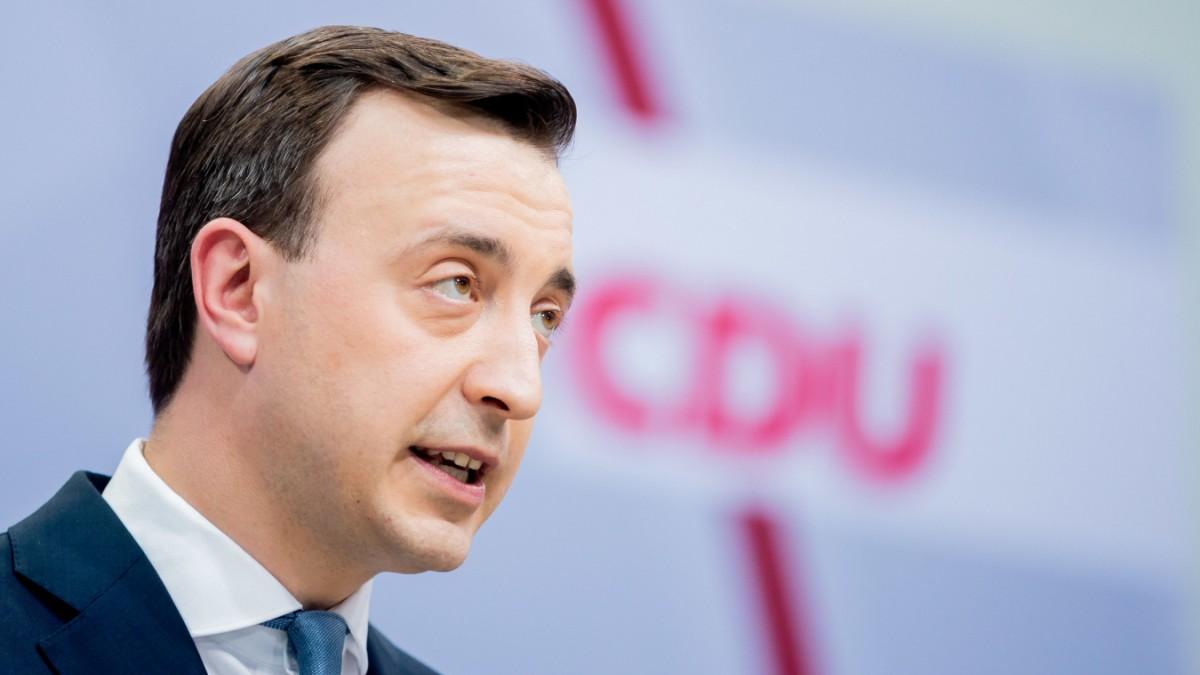 Bundestagswahl: Paul Ziemiak kritisiert SPD scharf