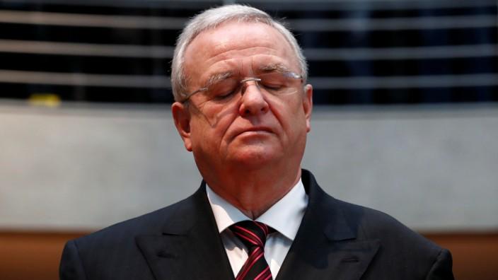 Ex-VW-Chef Martin Winterkorn muss sich wegen des Abgasskandals verantworten
