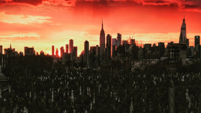 The Calvary Cemetery In New York