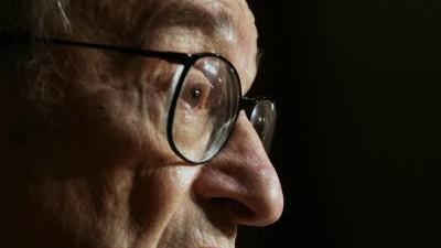 """Die Finanzkrise und die Folgen: Einst wurde er als """"größter Zentralbanker aller Zeiten"""" gerühmt, nun gilt er vielen als einer der Hauptschuldigen der Finanzkrise: der frühere US-Notenbank-Chef Alan Greenspan."""