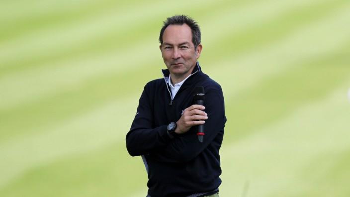 Ralf Exel Moderator kommentiert das Show Event BMW International Open 2015 Show Event Golf 23