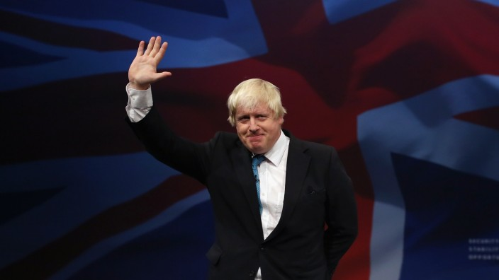 (FILE) Boris Johnson Marries Carrie Symonds Conservative Party Autumn Conference 2015 - Day 3