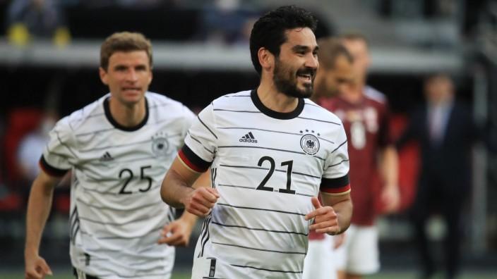 Nationalmannschaft: Ilkay Gündogan beim Spiel gegen Lettland