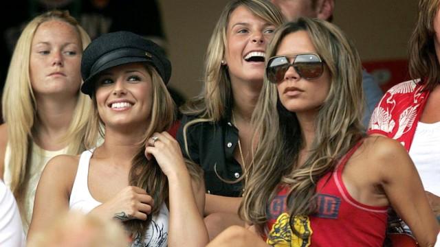 Cheryl Tweedy, Coleen McLoughlin und Victoria Beckham