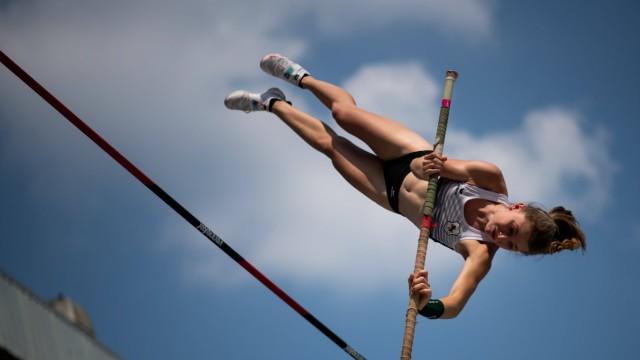 Chiara Sistermann (TSV Graefelfing), GER, Ruhr Games 2021, Leichtathletik U18 Frauen XO Cup Stabhochsprung, 04.06.2021.