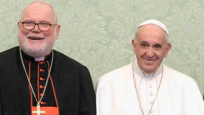 Kardinal Marx bei Papst Franziskus