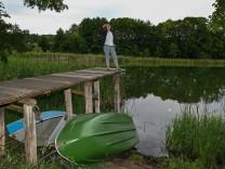 Annalena Baerbock auf Sommerreise in Brandenburg