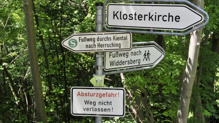 Andechs Weg nach Herrsching, Sperre