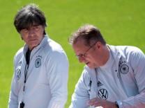 Fußball EM - Training Deutschland