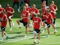 Fußball EM - Training Polen