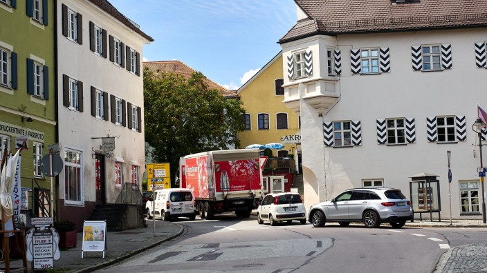 Verkehr EBE ums Rathaus