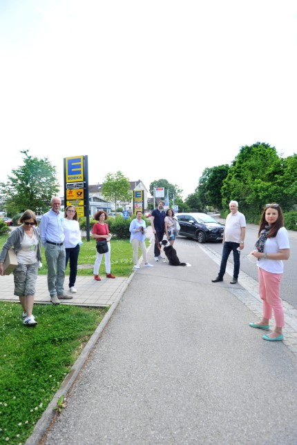 Stockdorf: Edeka - Verkehrslärmkläger