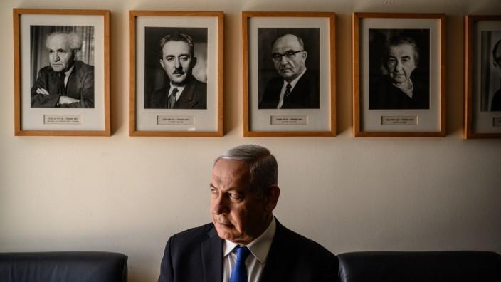 KOY2019020C | Israeli Prime Minister Benjamin Netanyahu testing the limits of power