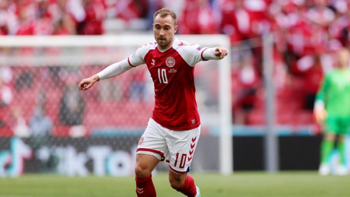 Fußball EM - Dänemark - Finnland