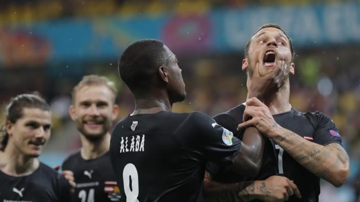 Fußball EM - Österreich - Nordmazedonien
