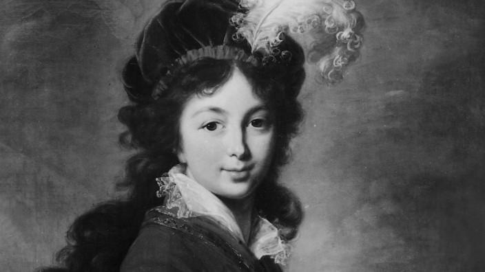 Élisabeth-Louise Vigée Le Brun, Großfürstin Anna Feodorowna von Russland (1781-1860), 1797