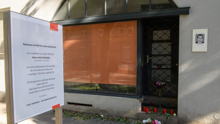 Gedenken an NSU-Opfer Abdurrahim Özüdo·ru