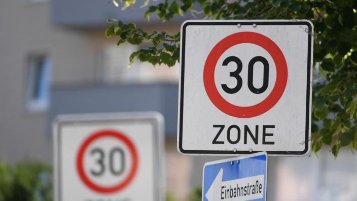 Tempo 30-Zone in Frankfurt