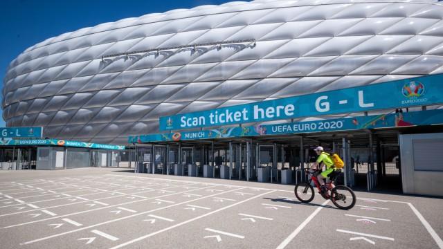 Fußball EM - Vorbereitungen in München