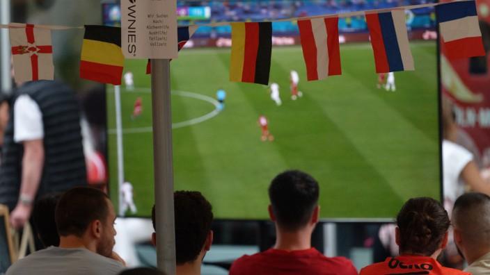 Fußball EM - Türkei - Italien - Public Viewing Köln