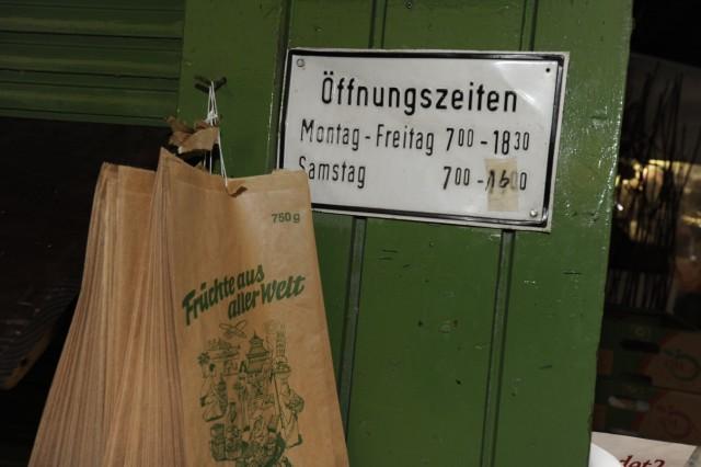 Fruchthandel auf dem Münchner Viktualienmarkt, 2010