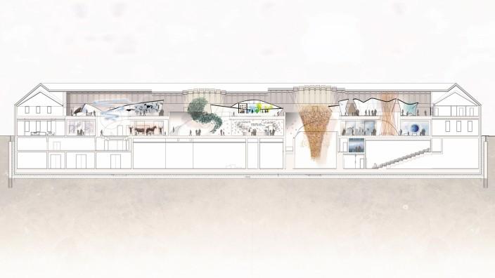 Noch virtuell: das Naturkundemuseum Biotopia in Schloss Nymphenburg