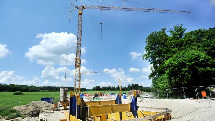 Starnberg: Baustelle - Am Wiesengrund