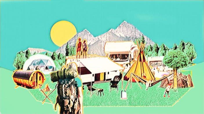 Camper: Illustration: Jessy Asmus