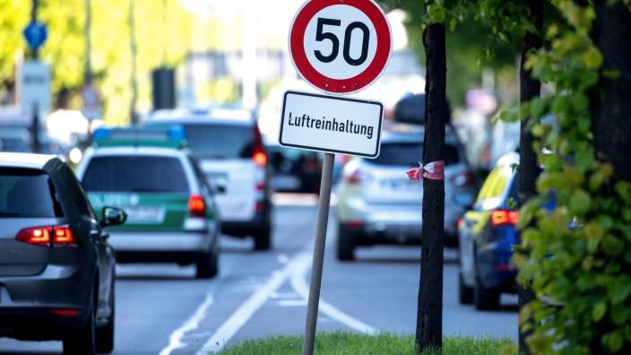 Überschreitung der Grenzwerte für Stickstoffdioxid in Deutschland