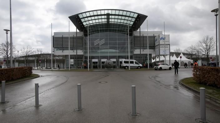 Impfzentrum Messe München, Riem