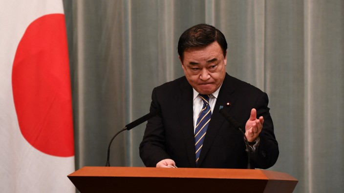 Japan: Der japanische Handelsminister Hiroshi Kajiyama.